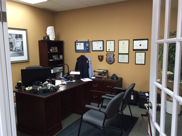 Office at TRAFFIC STOP Paralegal Professional Corporation®