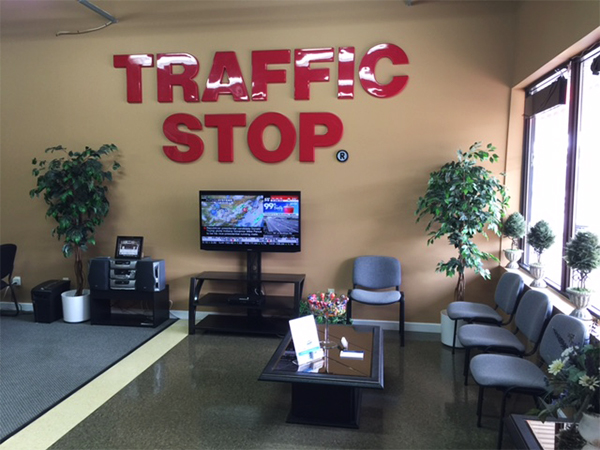 Waiting area of TRAFFIC STOP Paralegal Professional Corporation®