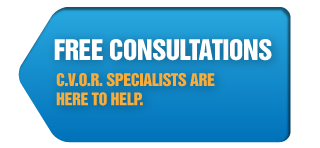 Free Consultations | C.V.O.R. specialists are here to help